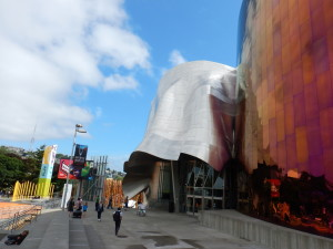 EMP Museum at the Seattle Centre
