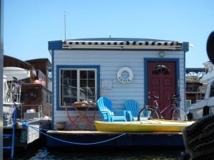 Boathouse on Lake Union