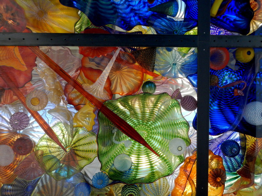 Dale Chihuly - details in the roof