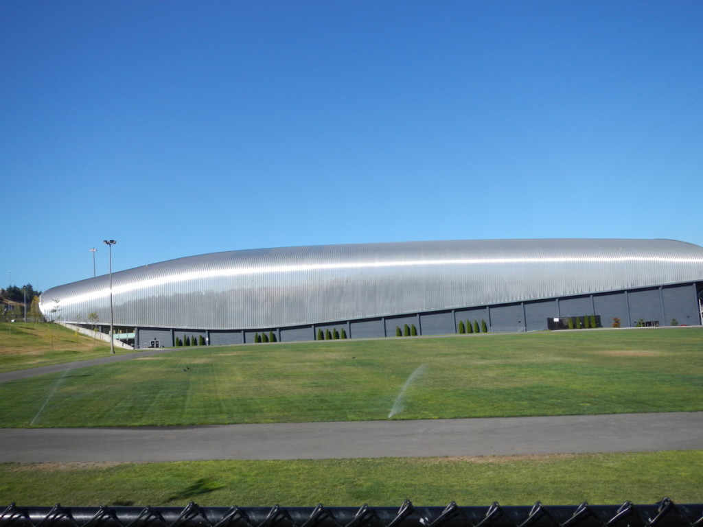 The impressive building of LeMay  Car Museum