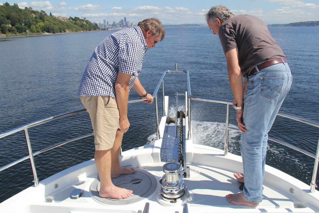 Anchoring and anchor wash demo