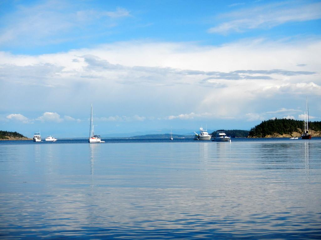 Beautiful  Echo Bay on Sucia Island