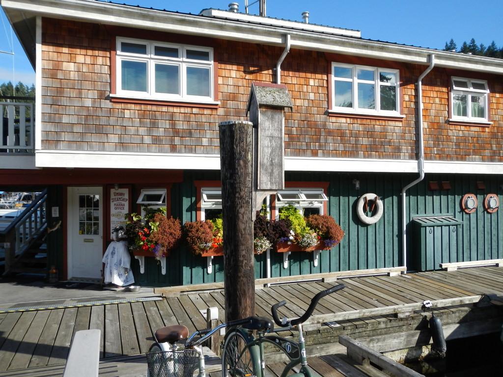 The Marina office