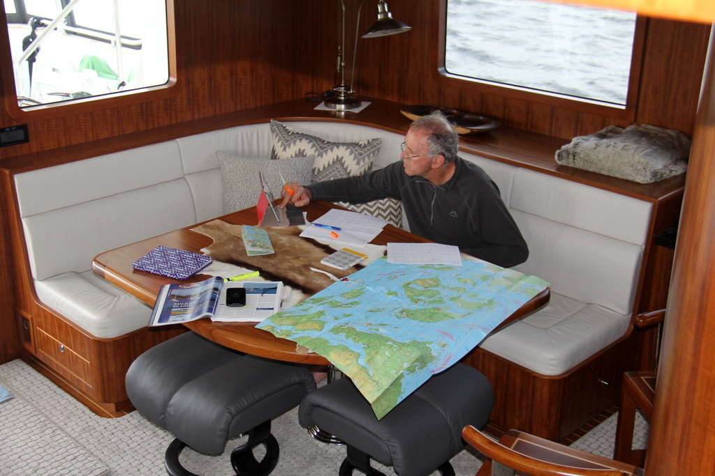Planning the next 4 weeks with guests on board