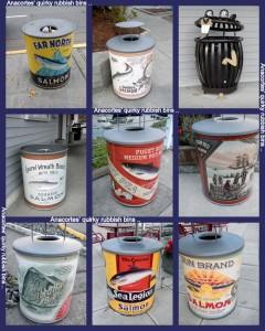 The eye-catching bins around Anacortes