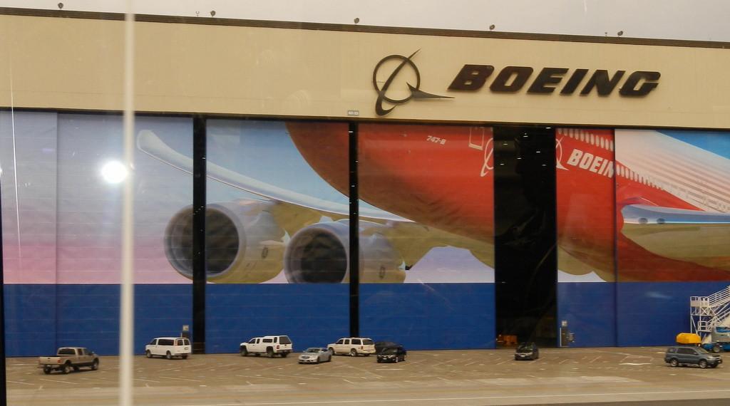 Boeing Factory near Seattle