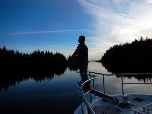 Foggy Bay - our first Alaskan anchorage