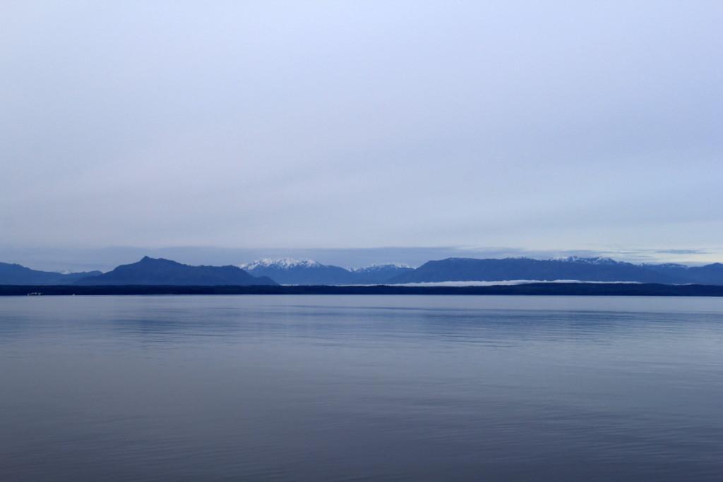 Last seen of Vancouver Island