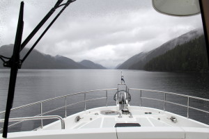 The Inside passage: A 10 hour rainy trip against the current
