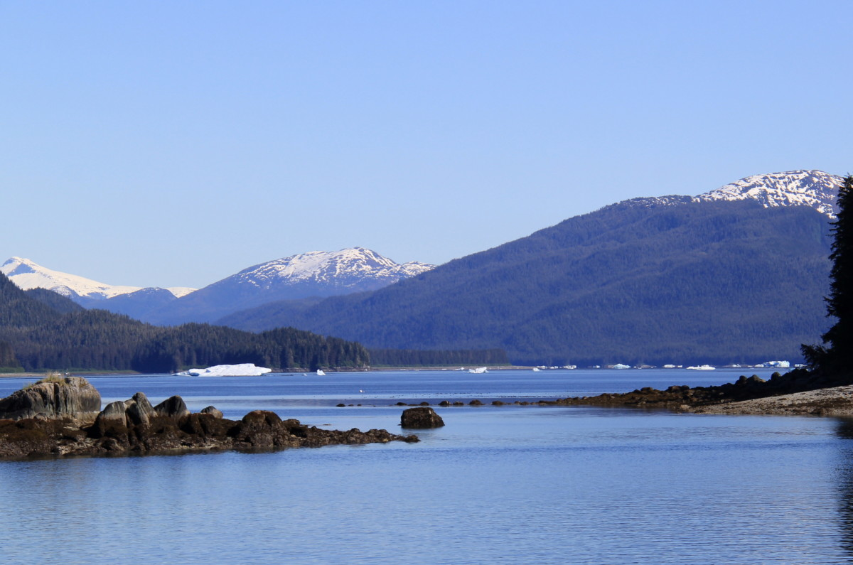 View from Harbour Island anchorage