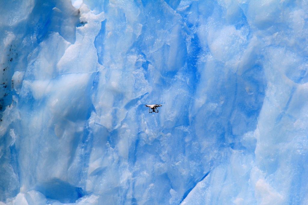 Drone against the Iceberg