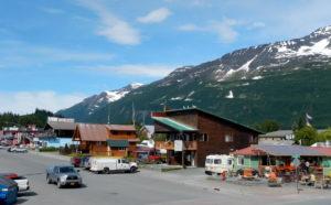 Main street ov Valdez