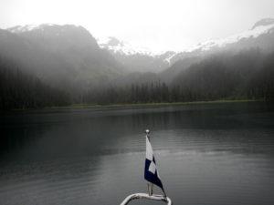 Rain in Bettles Lagoon