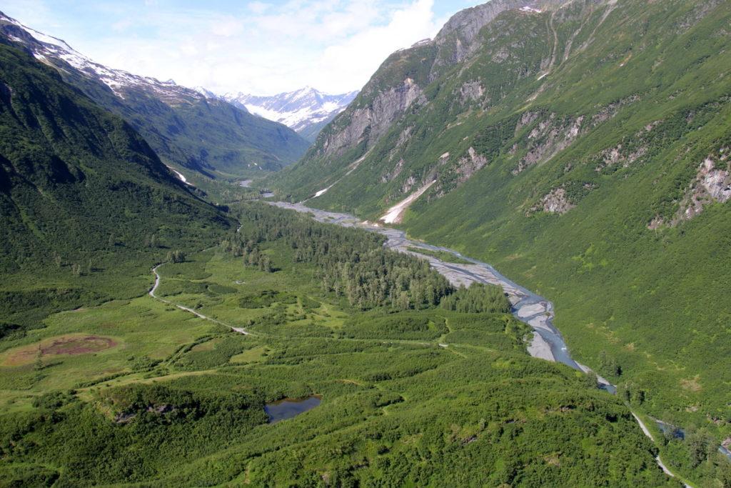 Mineral creek outside Valdez