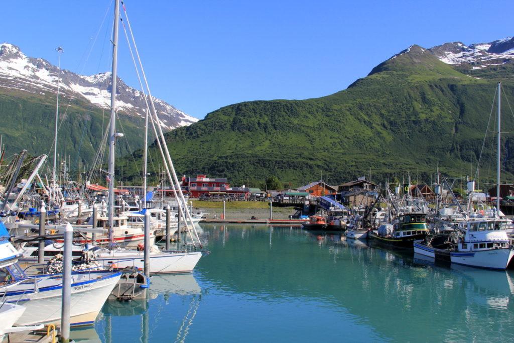 Leaving Valdez behind