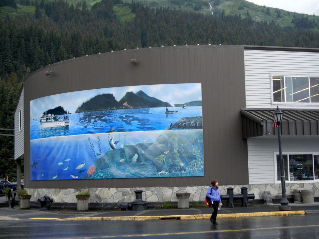 Seward has the most beautiful collection of murals all through town