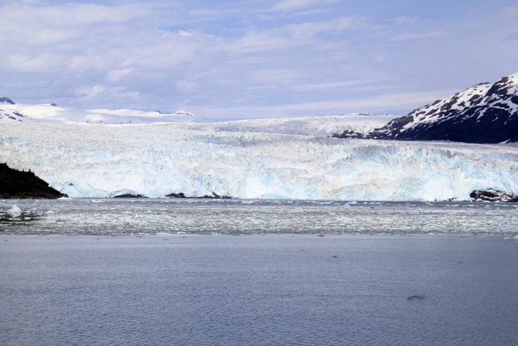Getting closer to Chenega Glacier
