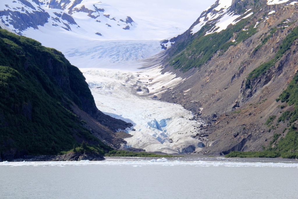Tiger tail glacier in retreat