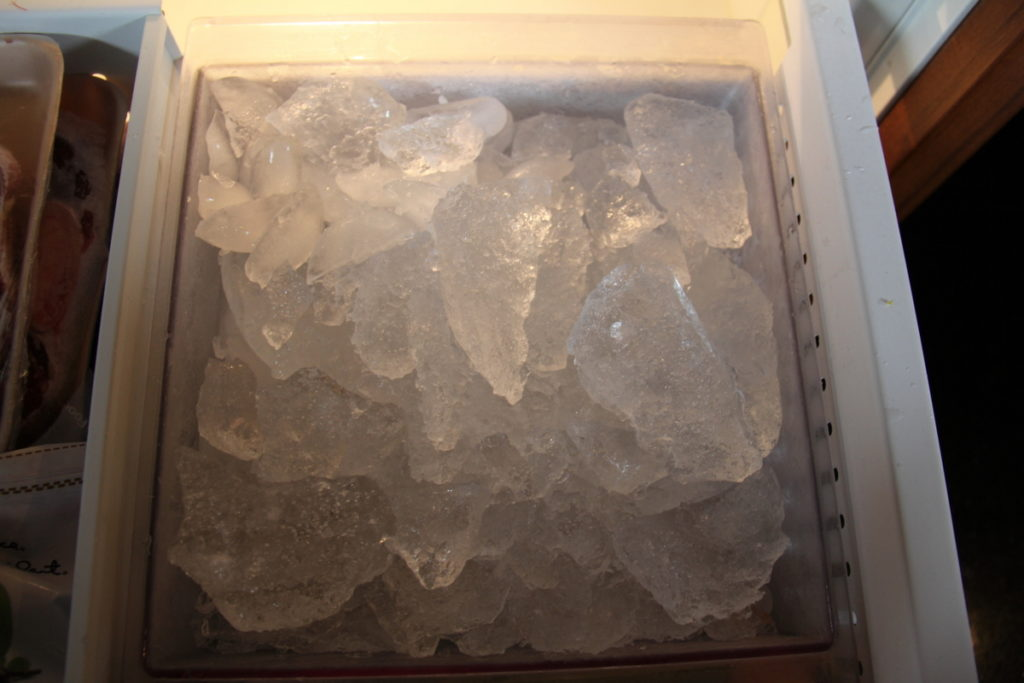 Glacier Ice for the next few G&T's