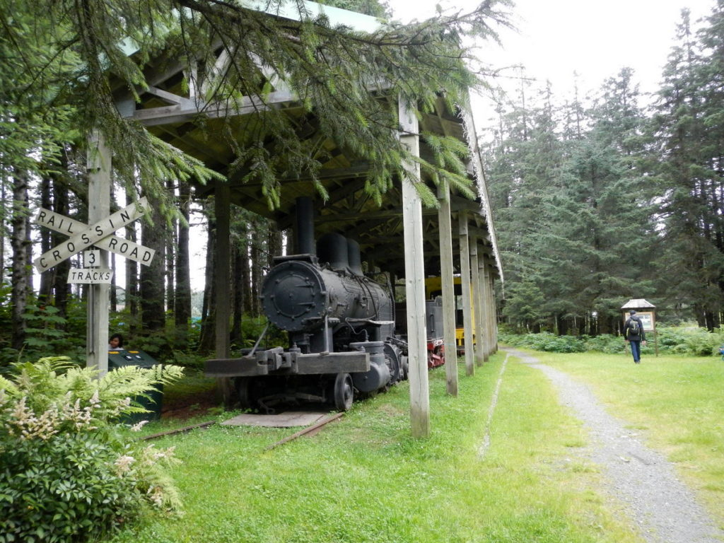 Beautiful Railway historic park - The railway to and from Yakutat was the only one ever primarily used to transport salmon.