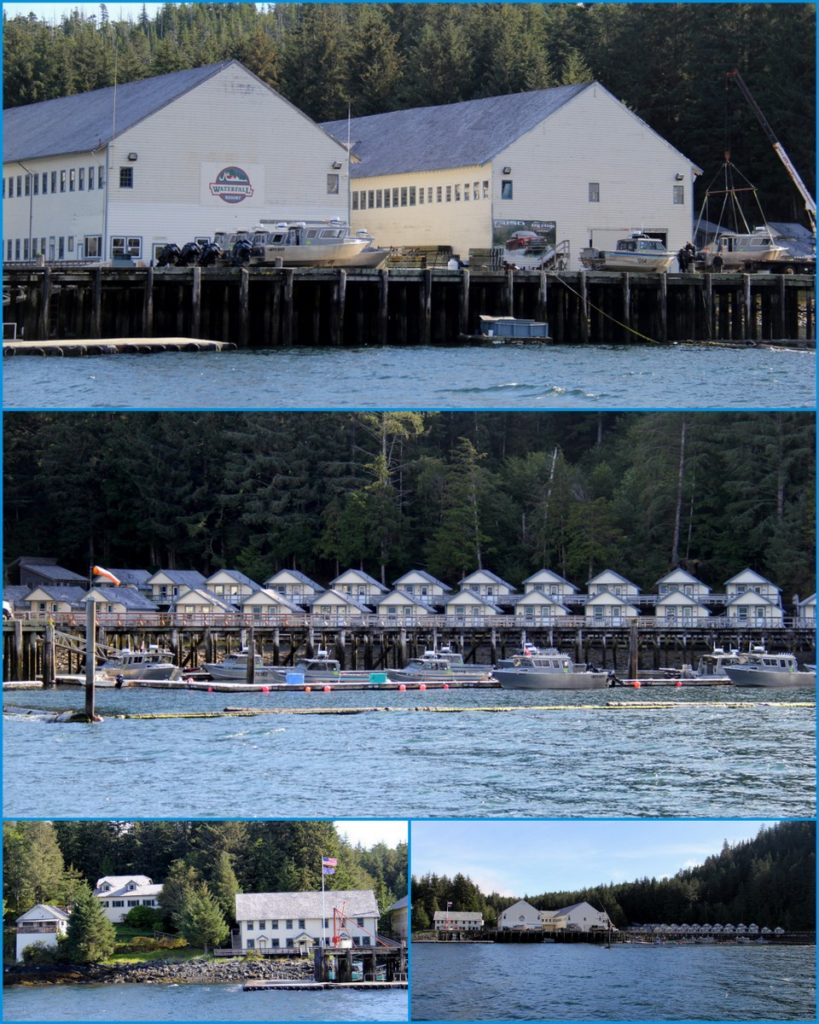 Waterfall resort - Once an old deserted cannery has become a lovely fishing lodge