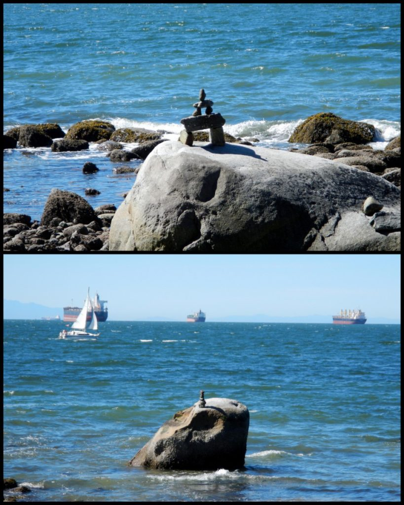 Rock balancing is an indeed an art