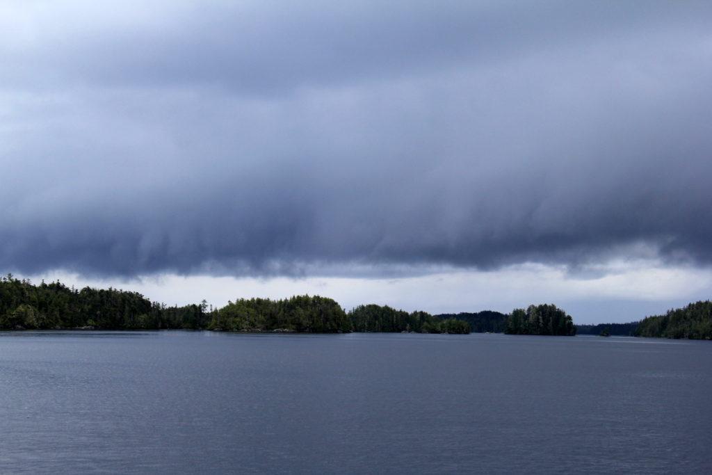 A storm appraoching