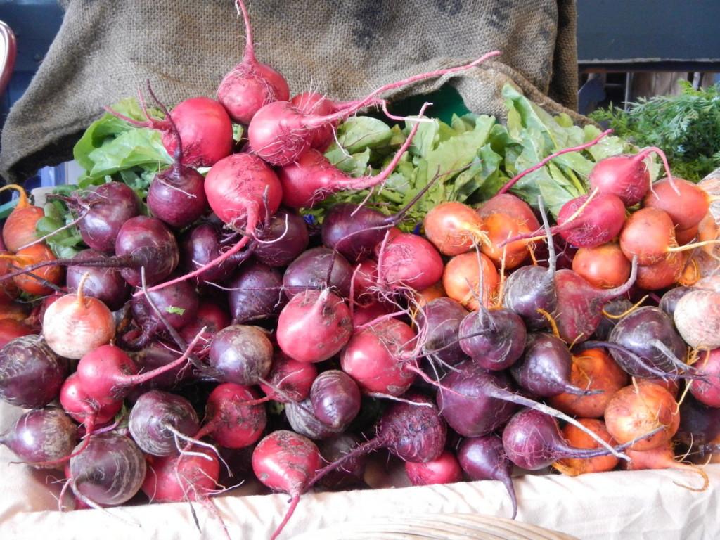 Farmers Market beetroot!