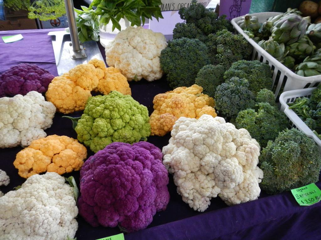 Farmers Market colours