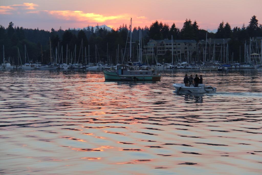 Sunset at Eagle Bay