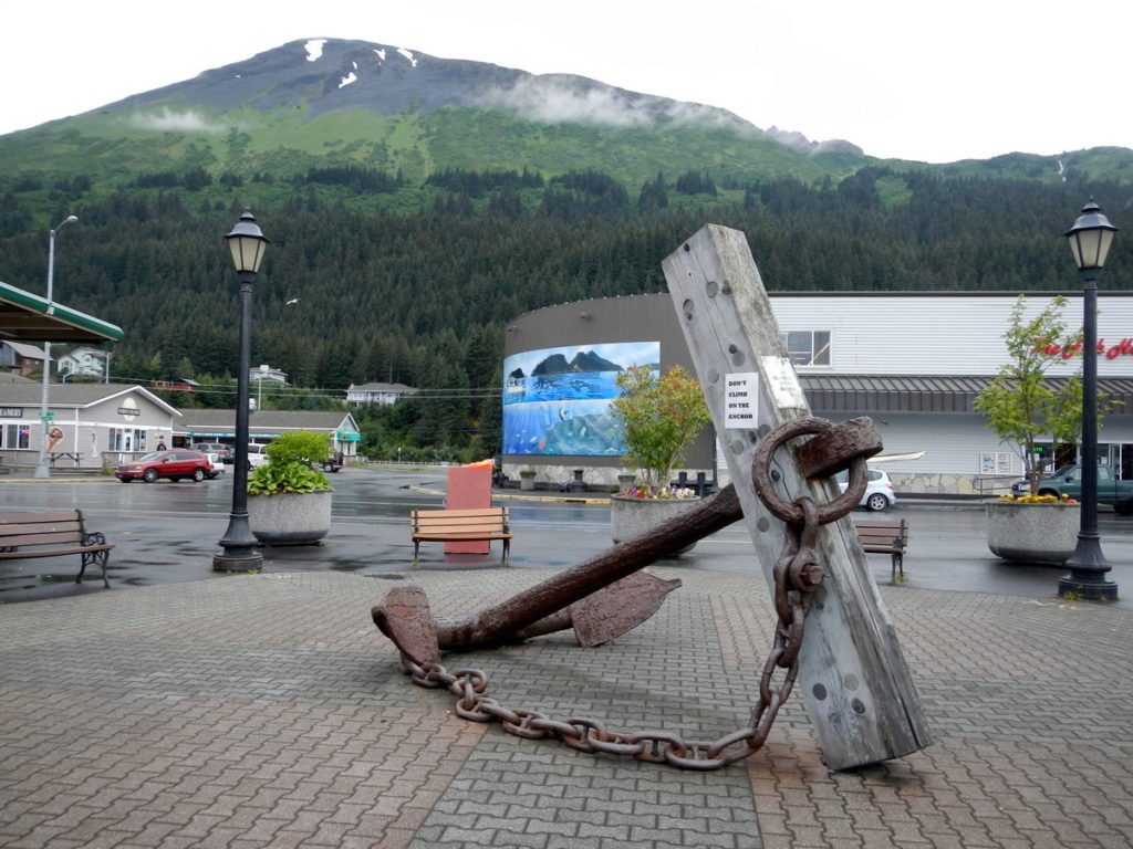 A memorial for those who lost their lives in the Good Friday earthquake on the 27th March 1964