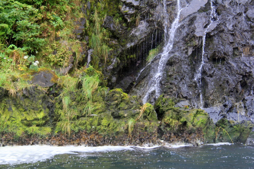Waterfall at Red Bluff Bay