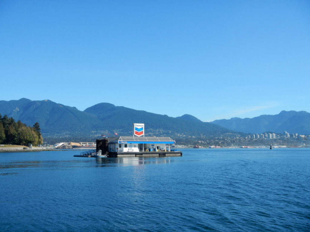 Fuel dock - lots of seaplanes around use it as well as boats