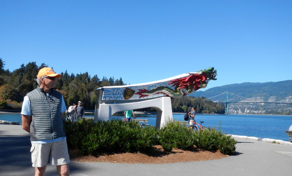 Replica of SS Empress in Vancouver's Stanley Park