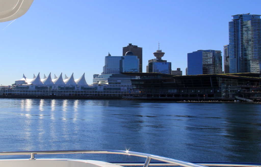 The wonderful familiar sight of Vancouver
